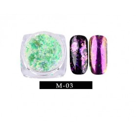 Pigment unghii Flake #03