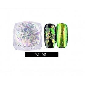 Pigment unghii Flake #05