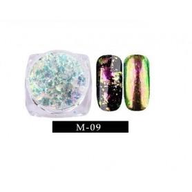 Pigment unghii Flake #09