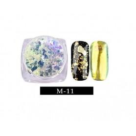 Pigment unghii Flake #11