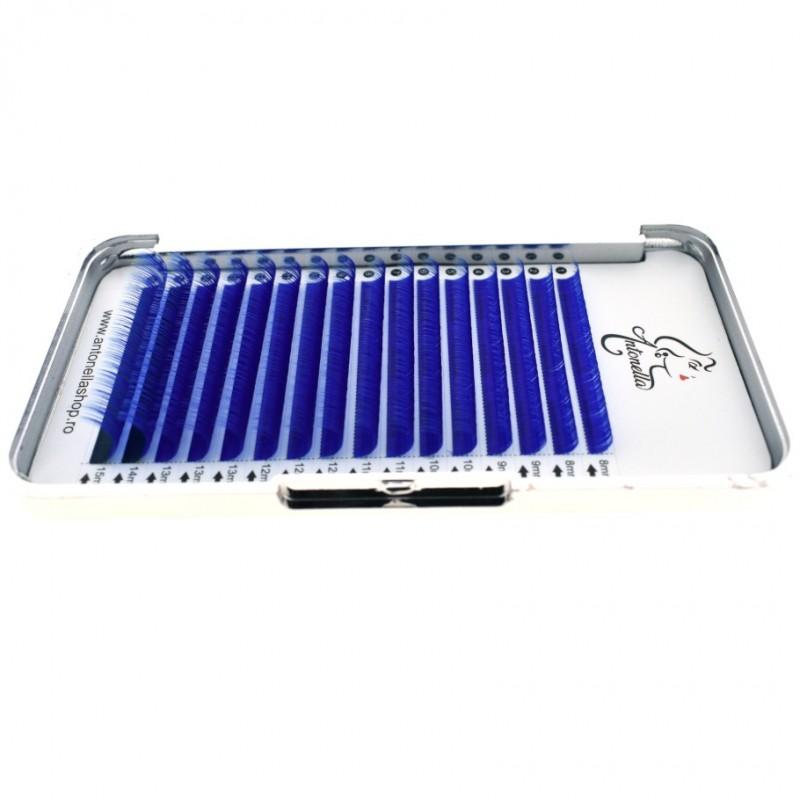 Mix extensii gene color Antonella Premium Albastru