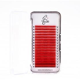 Mix extensii gene color Antonella Premium Rosu