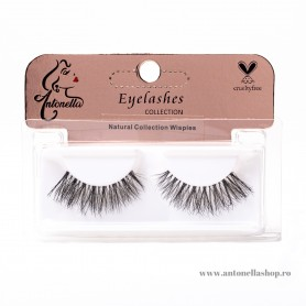 Gene false Antonella Natural Collection Wispies