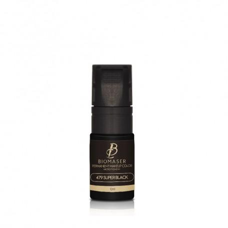Pigment micropigmentare Eyeliner, Biomaser, 12ml
