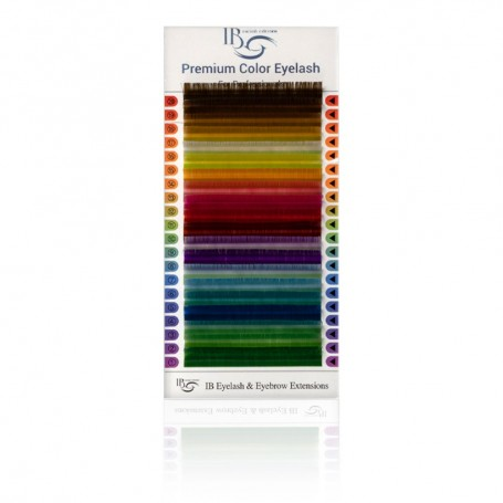Extensii gene Ibeauty Color Mix 20 linii